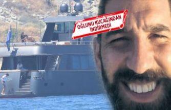 Arda Turan Bodrum'a gitti