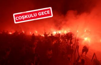 Bodrum ve Kuşadası'nda Fenerbahçe coşkusu