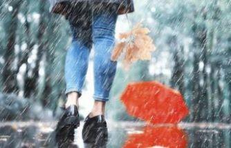 Dikkat: Meteoroloji'den kuvvetli yağış uyarısı