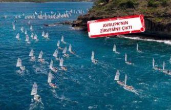 Dünya Şampiyonası'nda İzmirli yelkenciler tarih yazdı
