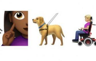 Engelli bireyleri temsil eden yeni emojiler geliyor