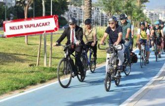 İzmir bisikletli ulaşımda öncü kent olacak