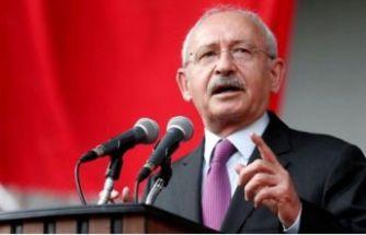 Kılıçdaroğlu: AB'nin yaptırımını kabul etmiyoruz