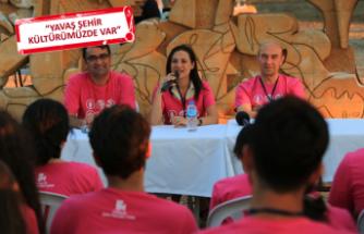 Öğrenciler ve başkanlar İzmir'i konuştu