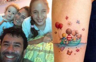 Ünlü oyuncu ailesini dövme yaptırdı