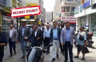 Zeybekci ve Sürekli'den MHP'ye sürpriz ziyaret