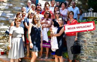 """Başkan eşleri """"engelsiz"""" İzmir için kolları sıvadı"""