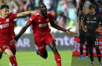 Beşiktaş, Sivas'ta dağıldı: Kötü başlangıç