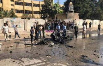 Mardin'de bomba yüklü otomobil infilak etti