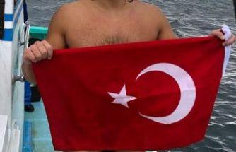 İzmirli yüzücü Japonya'yı fethetti