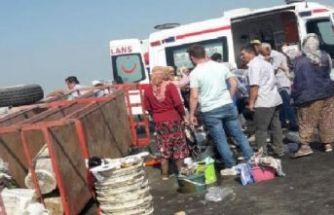 Turgutlu'da can pazarı: 11 tarım işçisi...