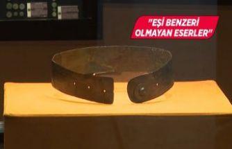 """2 bin 800 yıllık """"prenses kemeri"""" İzmir'de sergileniyor"""