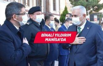 AK Parti İzmir Milletvekili Binali Yıldırım, Manisa Valiliği'ni ziyaret etti