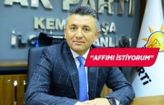AK Parti Kemalpaşa İlçe Başkanı istifa etti