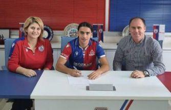 Altınordu, Kenan Fakılı ile profesyonel sözleşme imzaladı