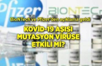 Aşı mutasyona uğramış virüse karşı etkili mi?