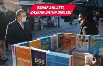 Batur'dan Sevgi Yolu esnafına destek