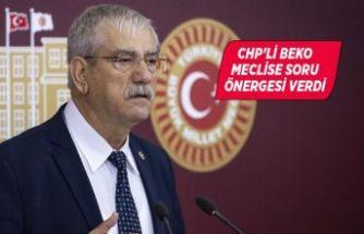 CHP'li Beko engellilerin sorunlarını Meclis'e taşıdı