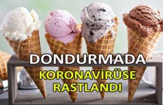 Dondurmada koronavirüse rastlandı