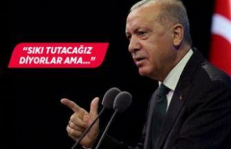 Erdoğan'dan 'restoranlarda esneme' açıklaması