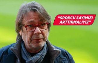 """Göztepe Başkanı Mehmet Sepil: """"Sporcu sayımızı arttırmamız lazım"""""""