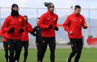 Göztepe, Gençlerbirliği maçı hazırlıklarına başladı