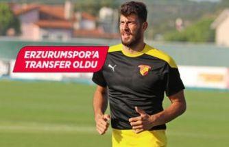 Göztepeli kaleci Göktuğ Bakırbaş, Erzurumspor'a transfer oldu