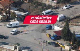 İzmir'de helikopterle trafik denetimi