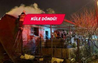 İzmir'de korkutan yangın: Sobanın üzerindeki çamaşırlar tutuştu!
