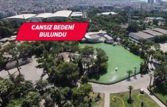 İzmir'de Kültürpark Fuar Alanı'ndaki gölette dehşet