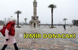 İzmir donacak!