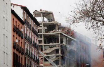 Madrid'de patlama