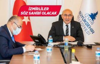 Meclis gündemi İzmirlilerin oylarına sunulacak