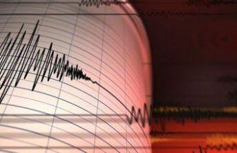 Muğla'da 3,9 büyüklüğünde deprem