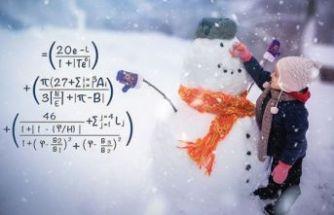 'Mükemmel kardan adam' yapmanın matematiksel formülü