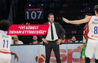 Pınar Karşıyaka Başantrenörü Ufuk Sarıca galibiyeti değerlendirdi