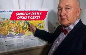 Prof. Dr. Ercan, Kıbrıs depremini de bildi