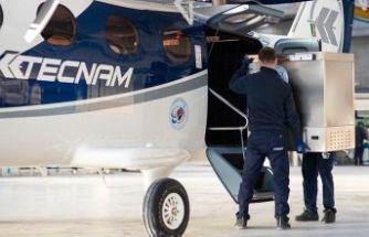 Yolcu uçağı, devasa bir dondurucuya dönüştürüldü