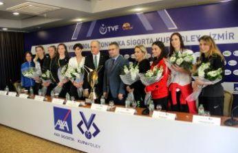 İzmir, Kupa Volley'e hazır