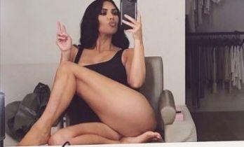 Kardashian'ın 'günaydın' pozu olay oldu!