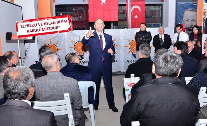 AK Parti adayı Aslan: Bayraklı'da gönüllere gireceğiz