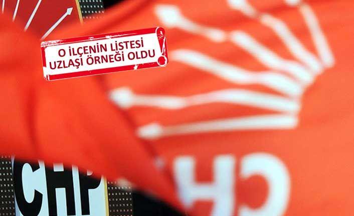 CHP İzmir'de o ilçe, liste polemiklerine takılmadı
