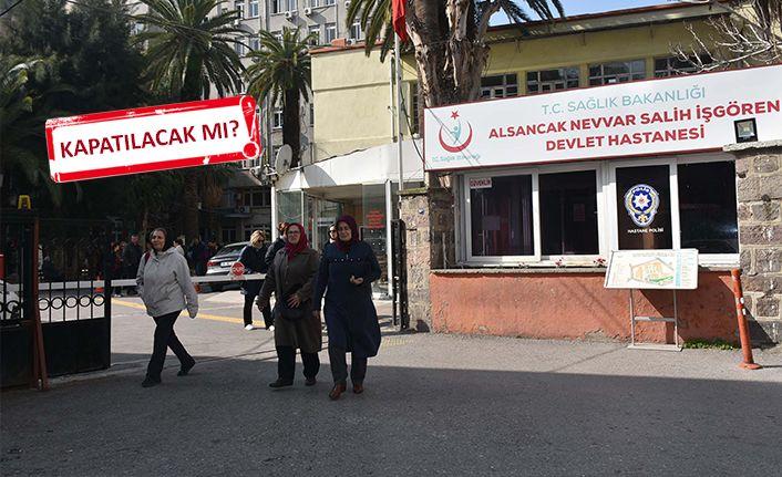 İzmir'de 'Alsancak Devlet Hastanesi' endişesi