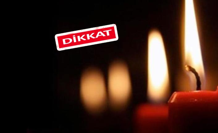 İzmir'de hafta sonu elektrik kesintisi