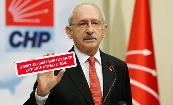 İzmir'i örnek gösterdi, hükümete yüklendi!