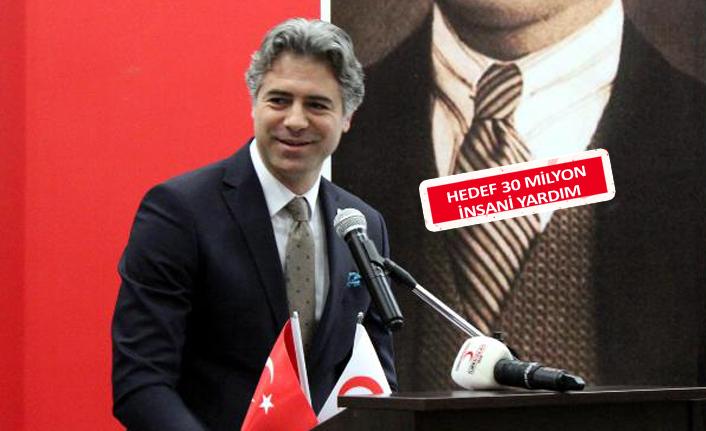 Kızılay İzmir Şubesi'nde Baykalmış güven tazeledi