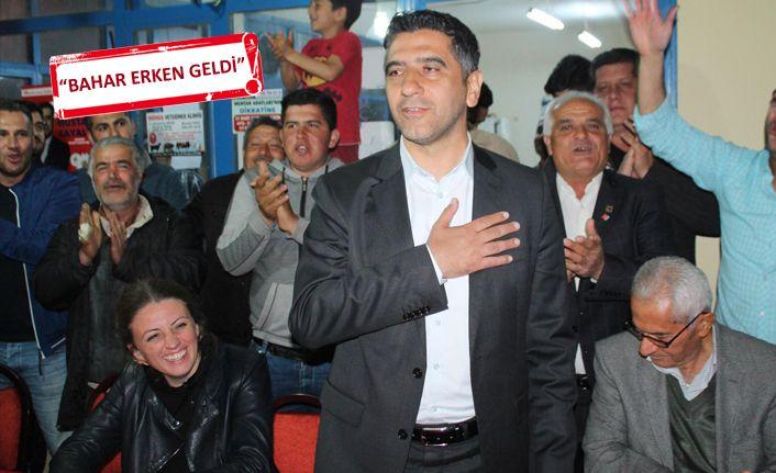 CHP'li Kayalar'a Menderes'te yoğu ilgi