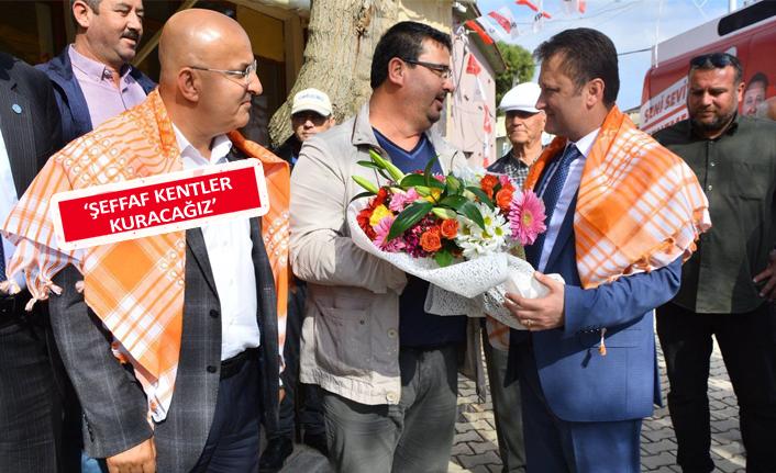 CHP'Lİ Polat, Menemen'in köylerinde halkla buluştu