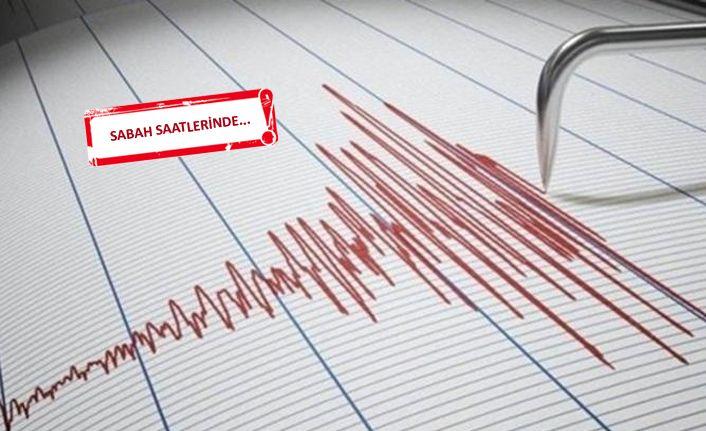 Ege'de korkutan deprem!