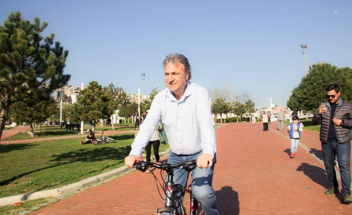 """İduğ, """"Bornova 'bisiklet dostu' olacak"""""""